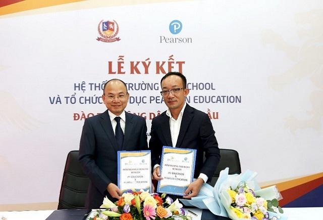 Hệ thống Trường Vietschool hợp tác toàn diện với Tổ chức giáo dục Pearson Education