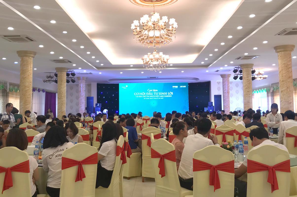 KĐT Bách Việt thu hút hàng trăm khách hàng quan tâm trong sự kiện tại huyện Lạng Giang