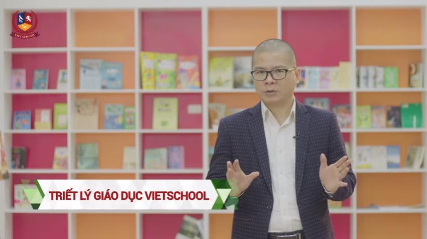 TS. Giáp Văn Dương chia sẻ về Triết lý Giáo dục Vietschool