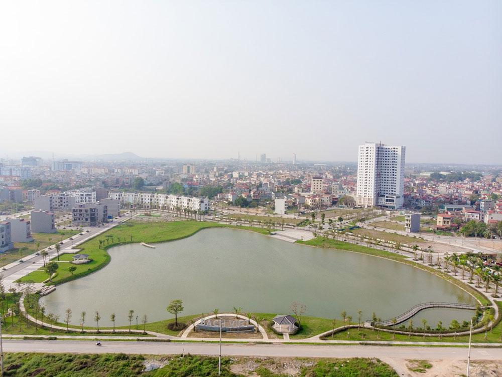 Bách Việt Lake Garden chính thức ra mắt Công viên mùa xuân